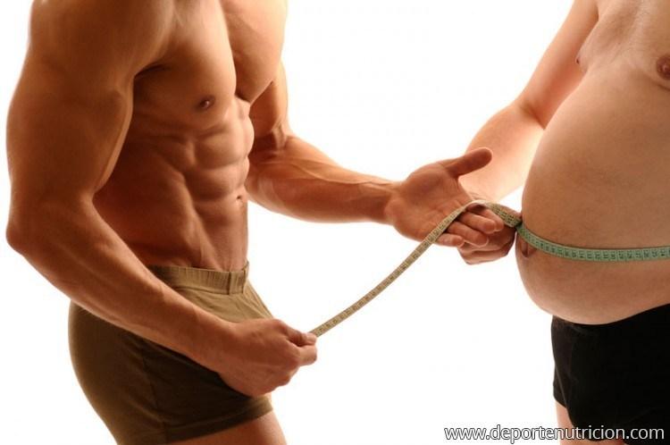 Perder grasa mientras ganamos músculo