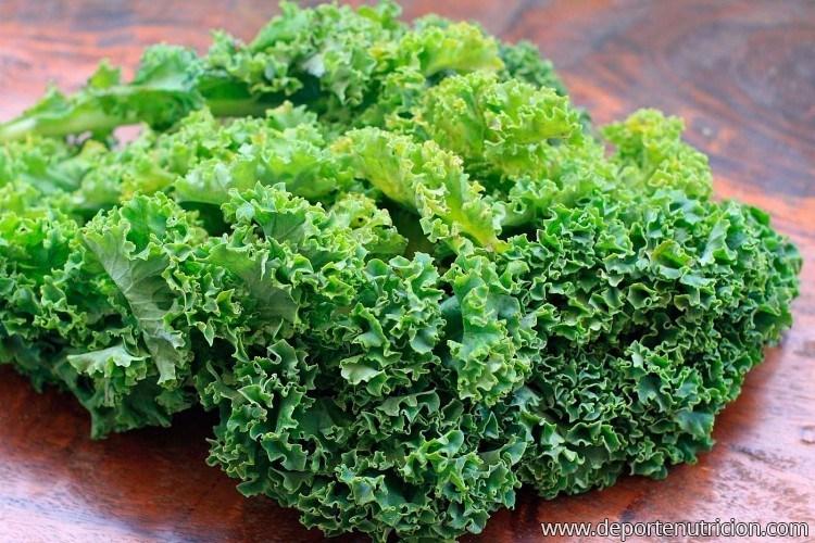 Kale, el vegetal ideal para el entrenamiento - Deporte y ...