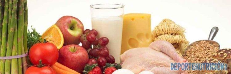 Alimentos para una dieta hipercalorica proteinas